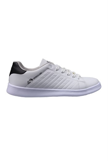 MP Mens Lace White Black Sneakers 211-7901MR 650