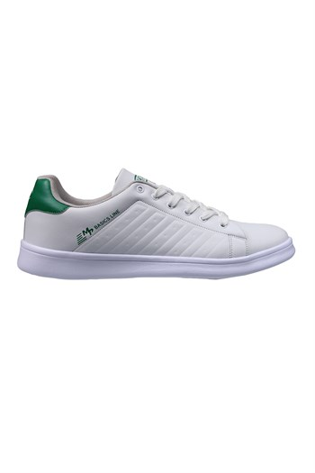 MP Mens Lace White-Green Sneakers 211-7901MR 650