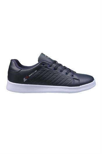 MP Mens Lace Navy Blue Sneakers 211-7901MR 300