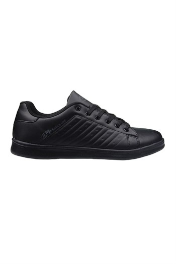 MP Mens Lace Black Sneakers 211-7901MR 100
