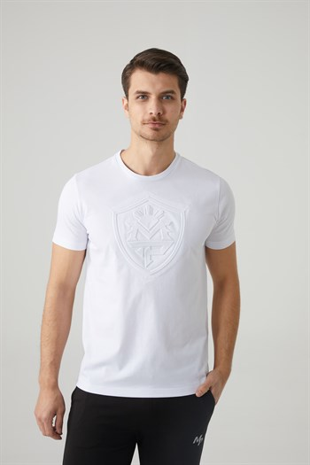 Mp MenS Bicycle Collar White T-Shirt Textile 201-5010MR 650