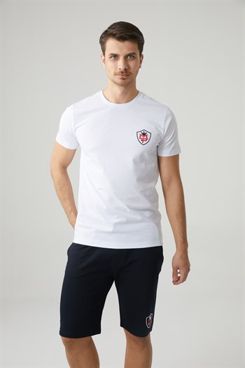 Mp MenS Bicycle Collar White T-Shirt Textile 201-5006MR 650