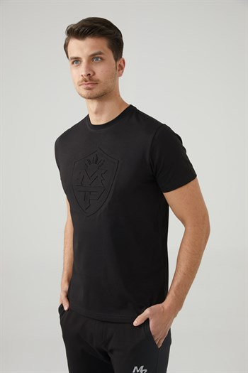 Mp MenS Bicycle Collar Black T-Shirt Textile 201-5010MR 100